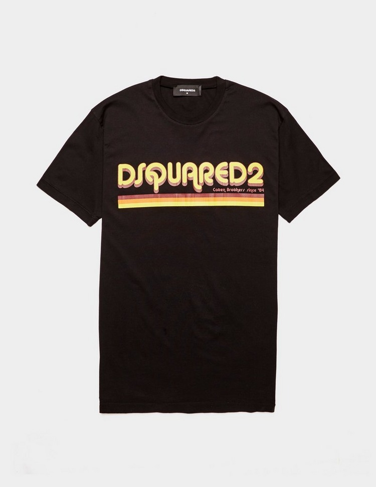 Dsquared2 Retro Text Short Sleeve T-Shirt
