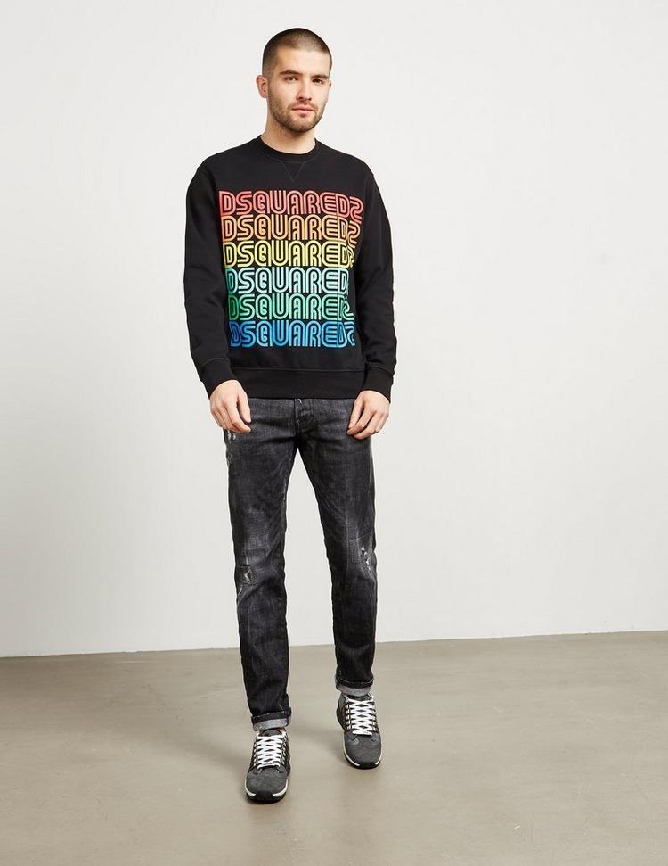 Dsquared2 Rainbow Logo Sweatshirt