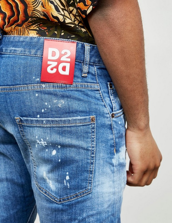 Dsquared2 Kenny Acid Distressed Jeans