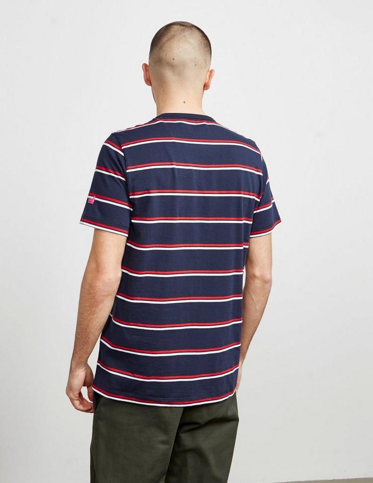 Albam Wide Stripe Short Sleeve T-Shirt