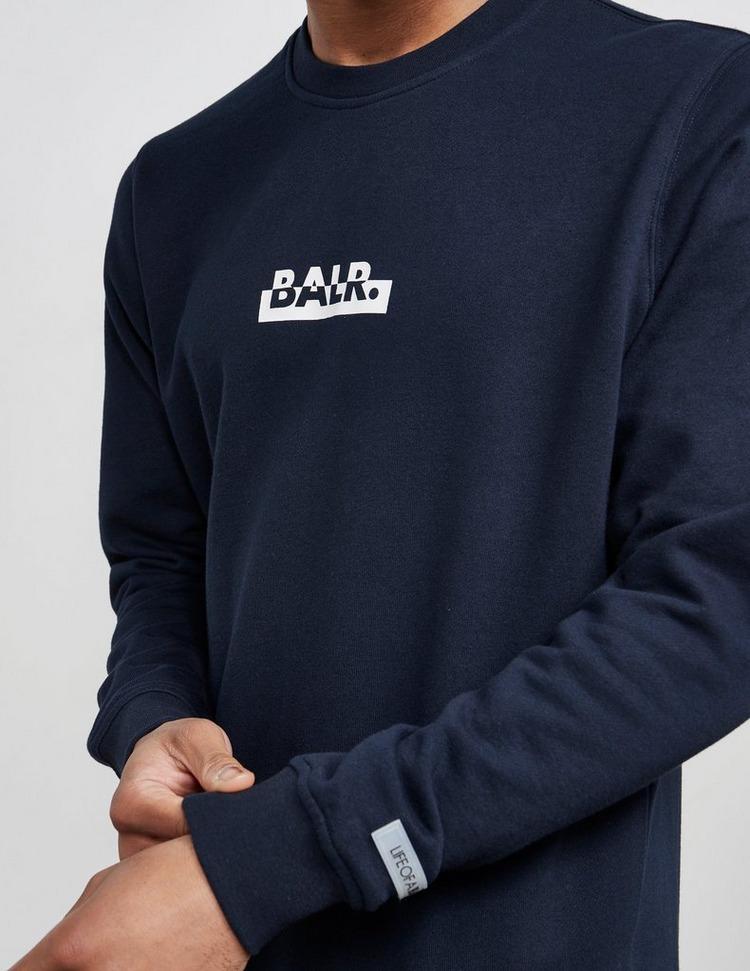 BALR Split Back Logo Sweatshirt