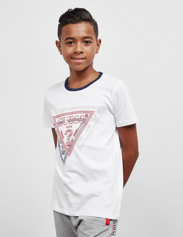 Guess Stitch Short Sleeve T-Shirt