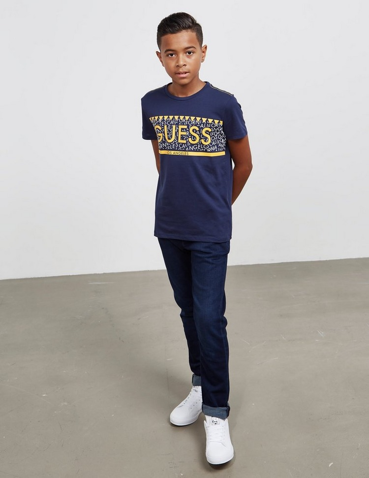 Guess Letter Short Sleeve T-Shirt