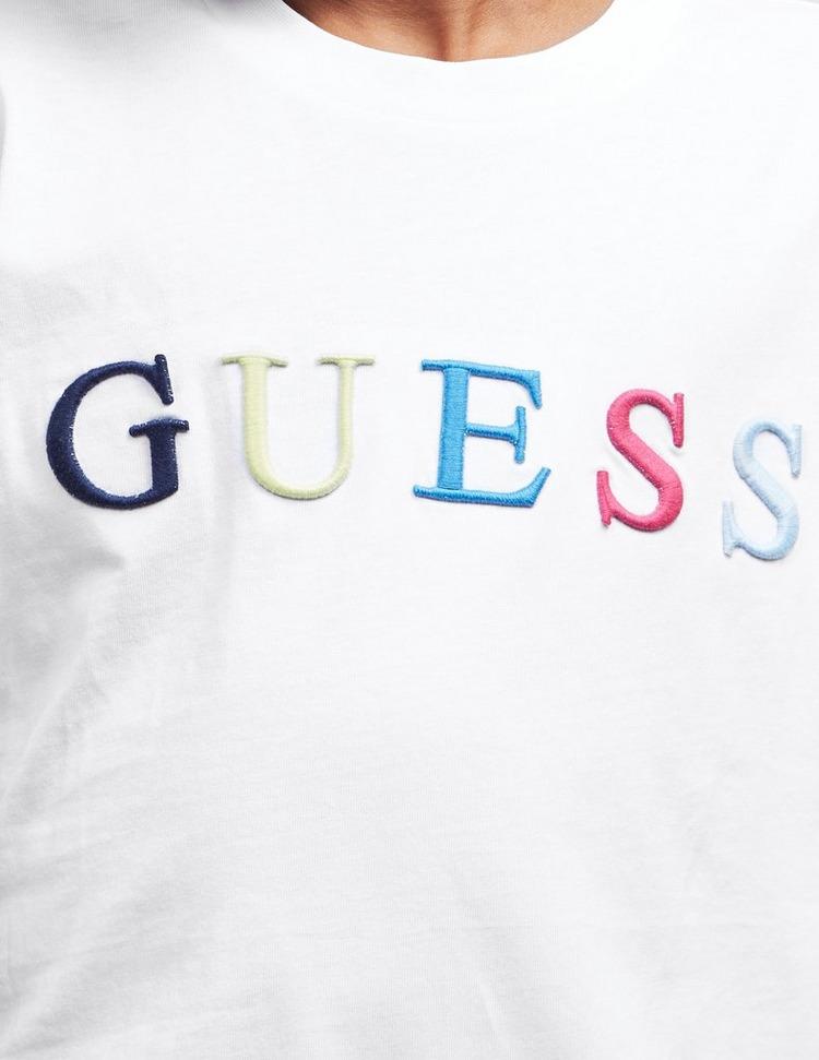 Guess Colour Logo Short Sleeve T-Shirt