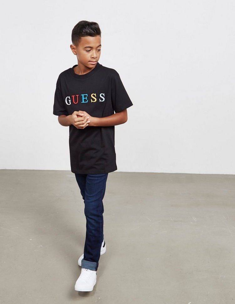 Guess Colour Logo Short Sleeve T-Shirt