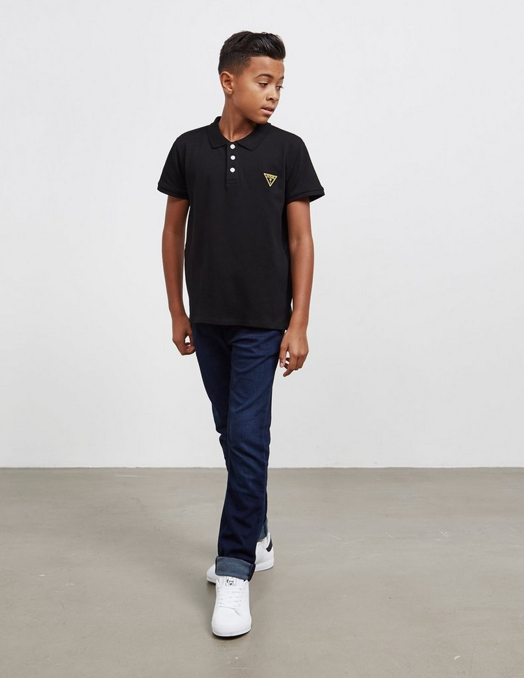Guess Short Sleeve Polo Shirt