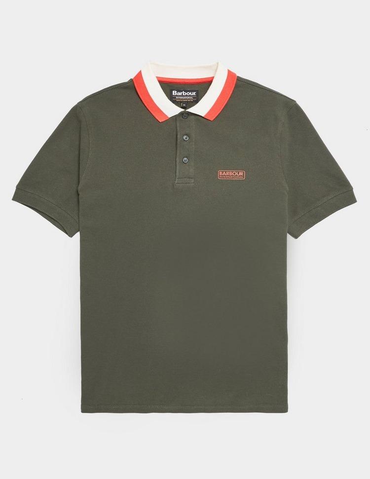 Barbour International Ampere Short Sleece Polo Shirt