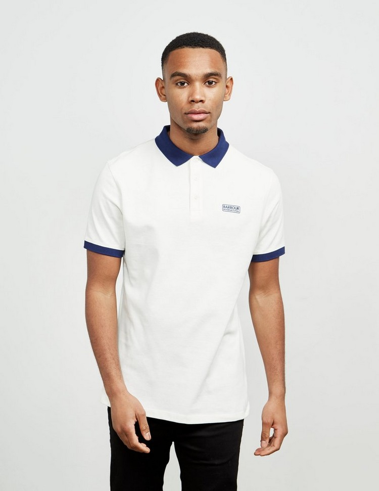 Barbour International Contrast Short Sleeve Polo Shirt