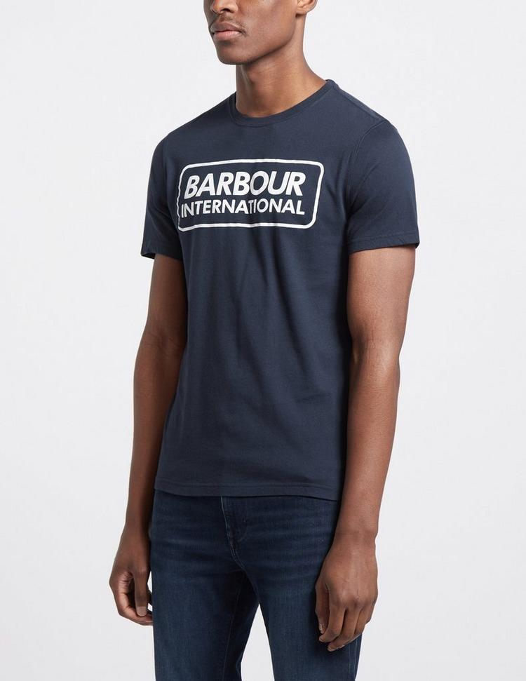 Barbour International Large Logo Short Sleeve T-Shirt