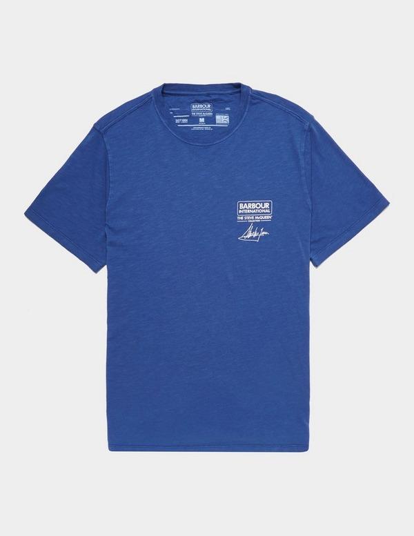 Barbour International Steve McQueen Short Sleeve Signature T-Shirt