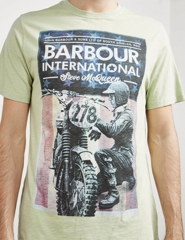 Barbour International Steve McQueen Short Sleeve Fixer T-Shirt