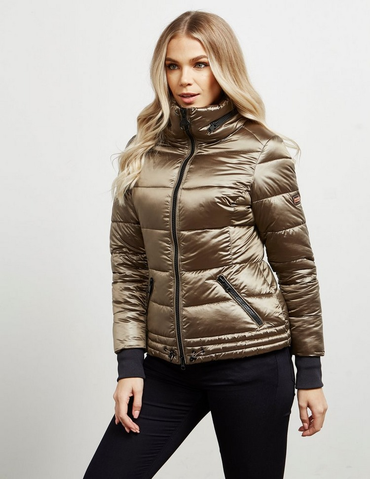 Barbour International Polar Bear International Axel Quilted Jacket