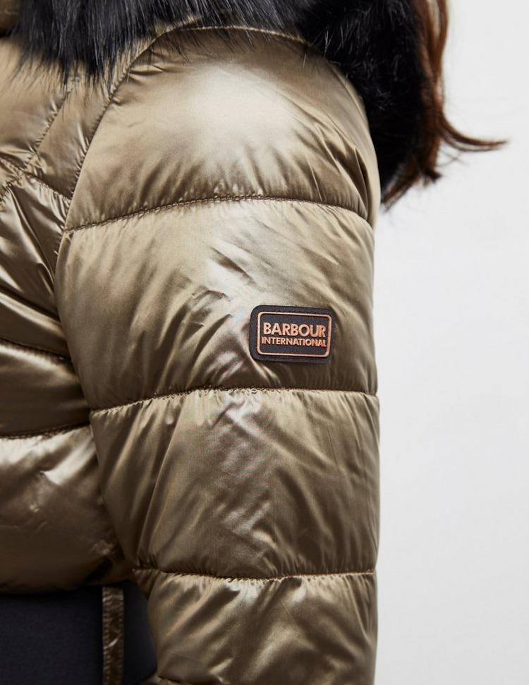 Barbour International Polar Bear International Arena Quilted Jacket