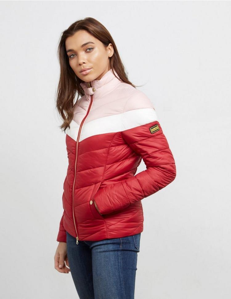 Barbour International Auburn Colour Block Padded Jacket