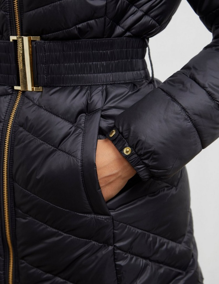 Barbour International Cross Quilted Padded Jacket