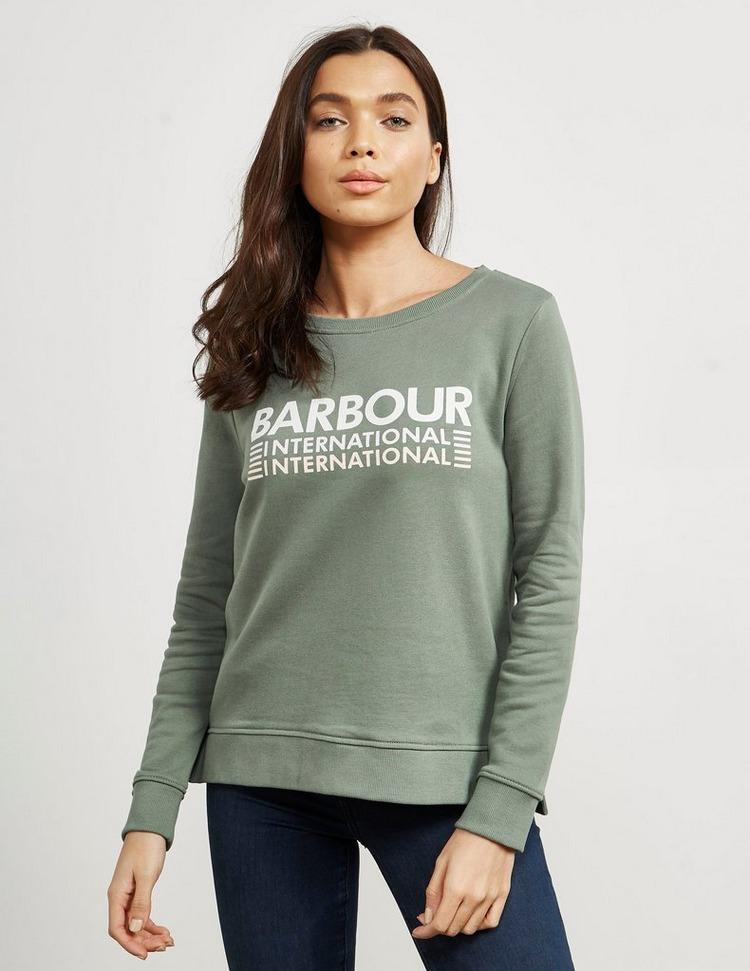 Barbour International Trackrace Logo Sweatshirt