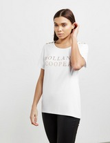 Holland Cooper Metallic Logo Short Sleeve T-Shirt