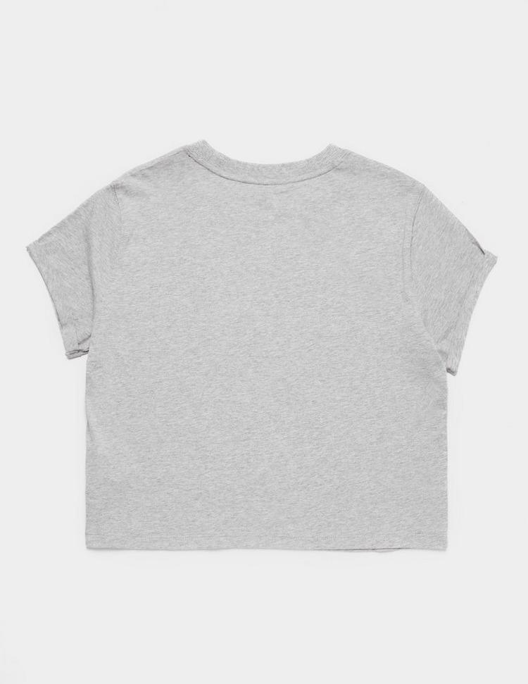 DKNY Boxy Logo Short Sleeve Crop T-Shirt