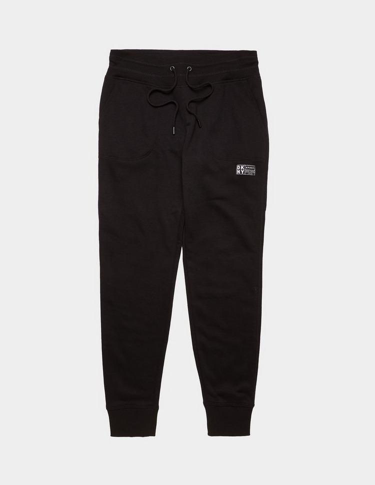DKNY Logo Patch Track Pants