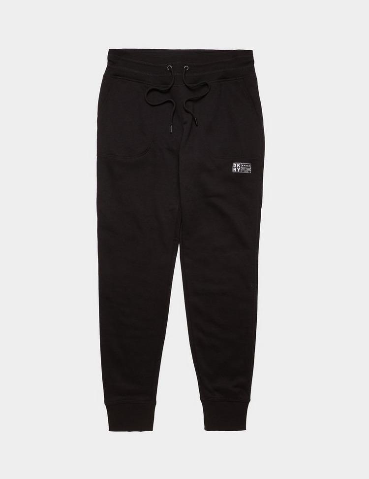 DKNY Logo Patch Track Pants