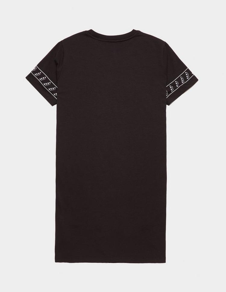 DKNY Logo Tape Print Dress