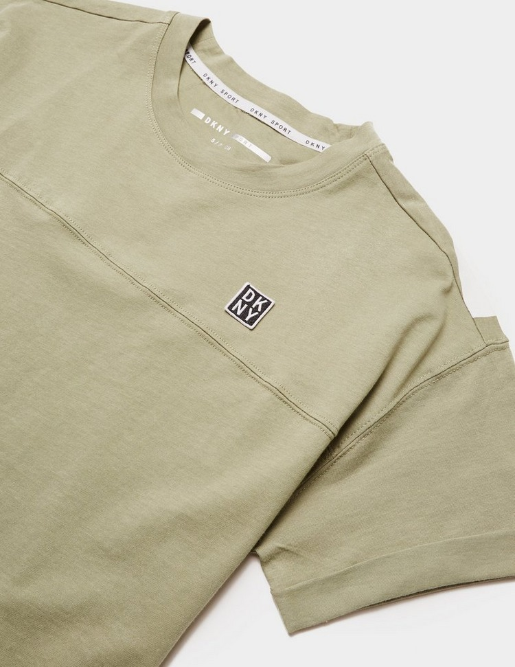 DKNY Cut Off Logo T-Shirt Dress