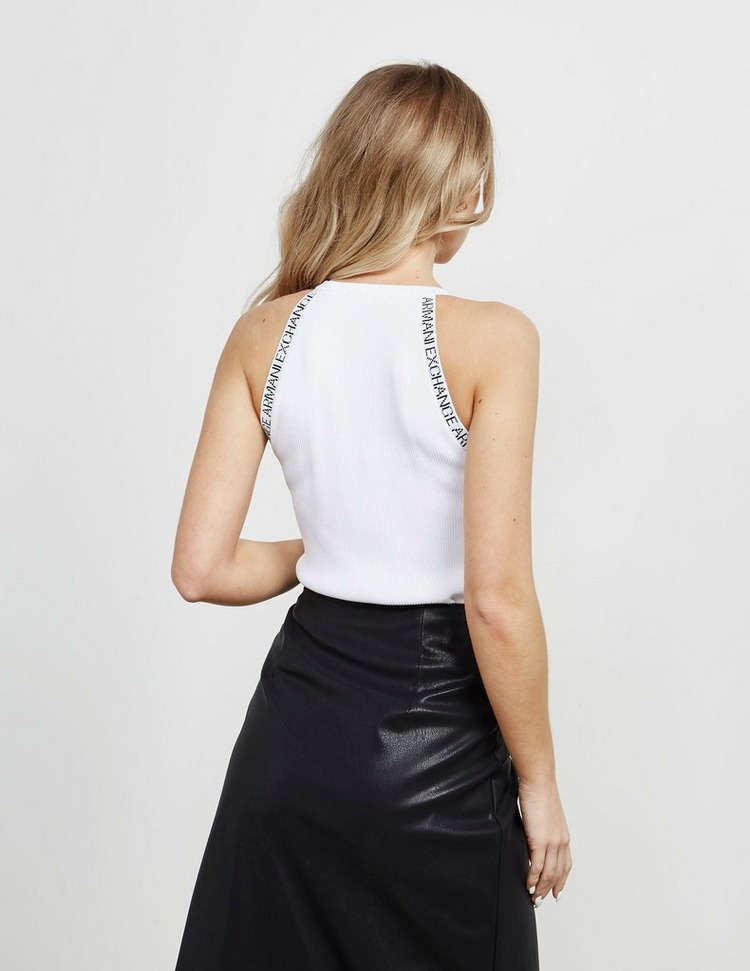 Armani Exchange Textured Knitted Top