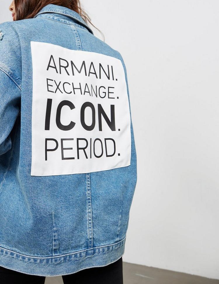 Armani Exchange Icon Box Jacket