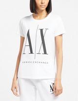 Armani Exchange Large Logo Short Sleeve T-Shirt