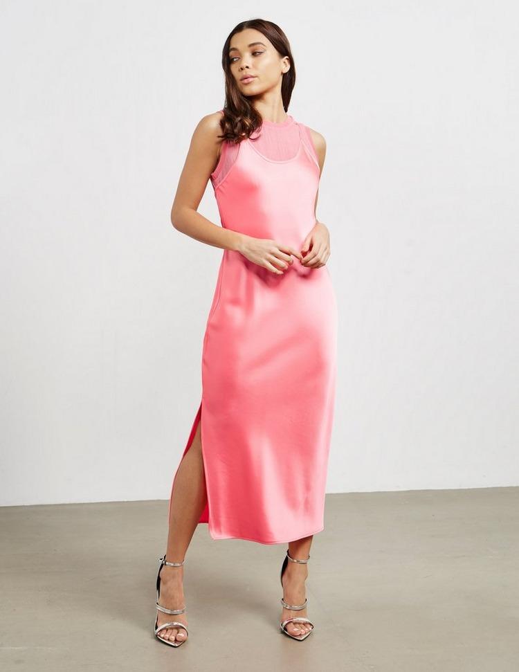 Armani Exchange Satin 2 in 1 Dress