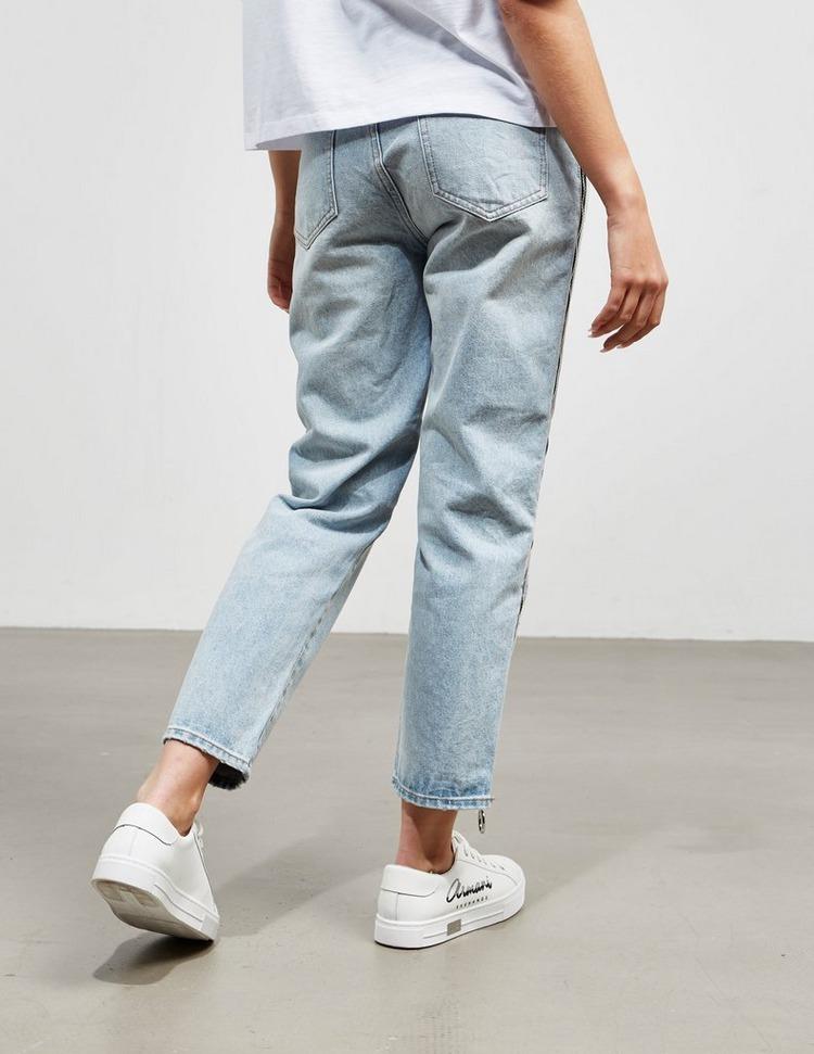 Armani Exchange Zip Mom Jeans