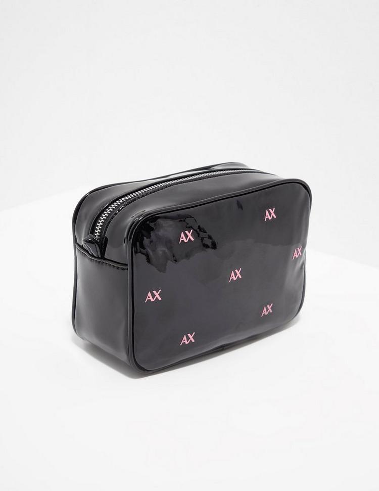 Armani Exchange Patent Camera Bag