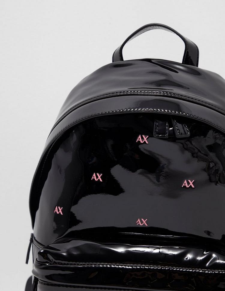 Armani Exchange Patent Backpack