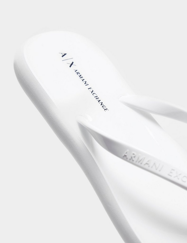 Armani Exchange Rubber Flip Flops