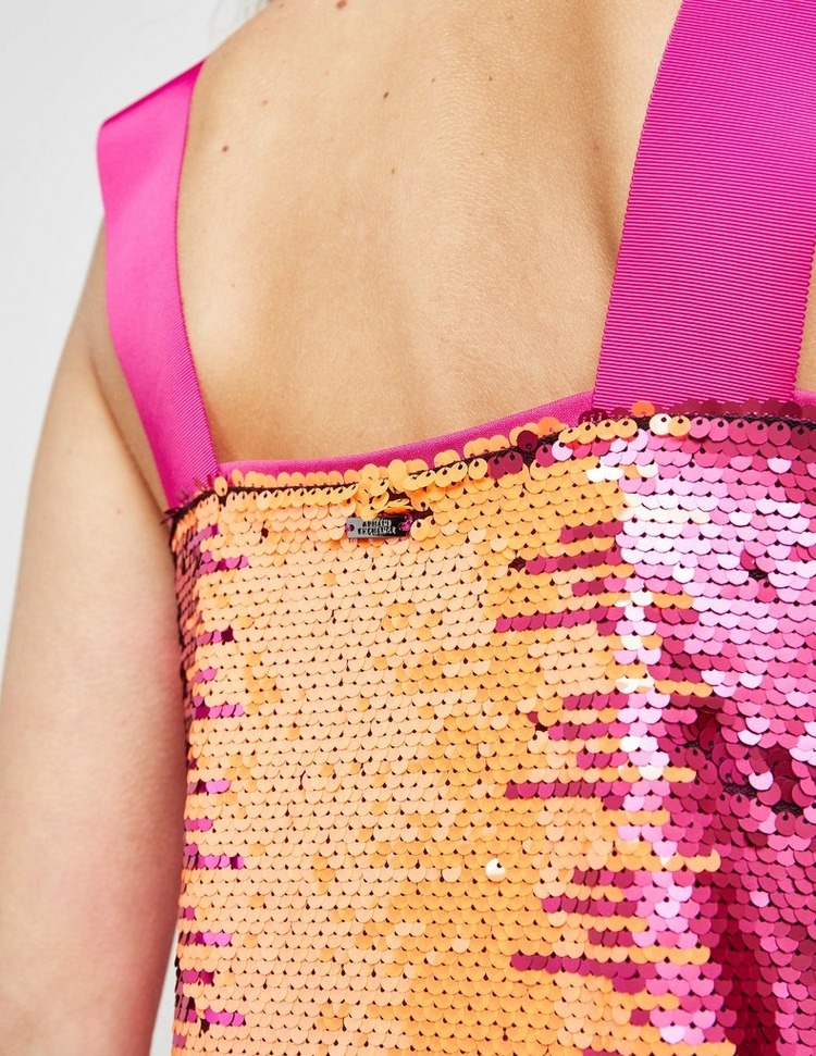 Armani Exchange Sequin Sleeveless Top