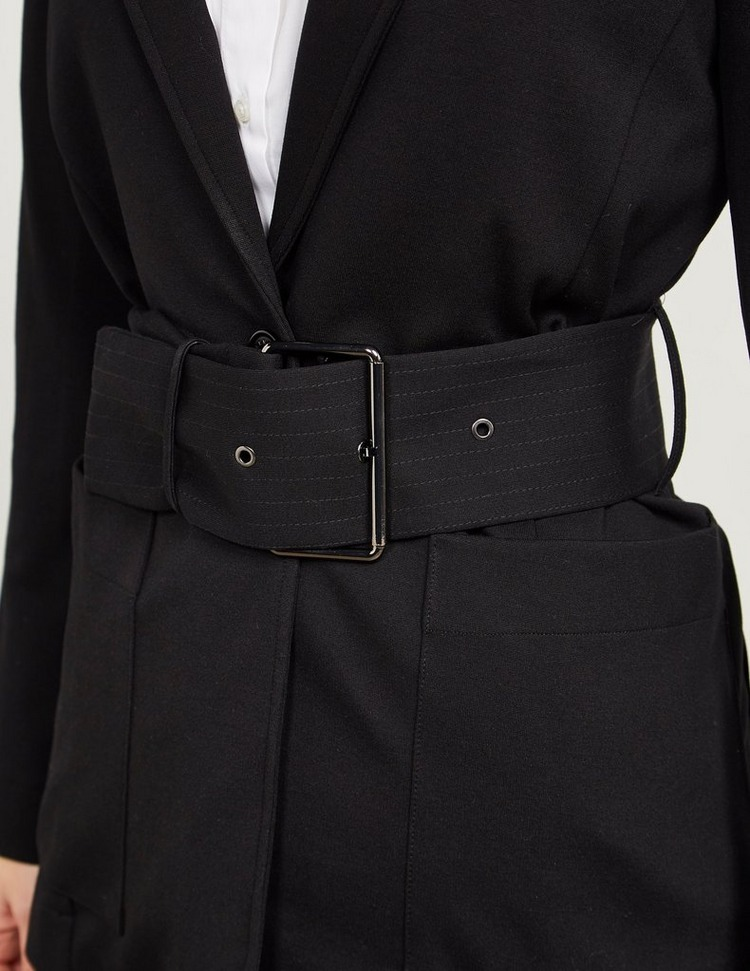Armani Exchange Belted Blazer
