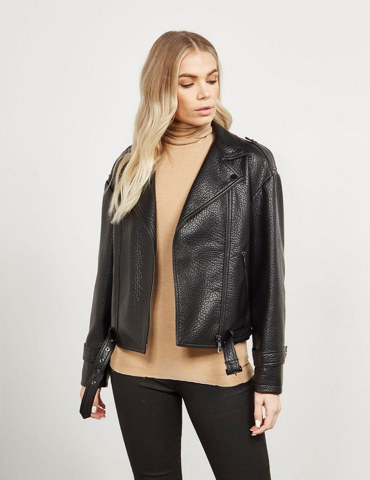 Armani Exchange Eco Leather Jacket