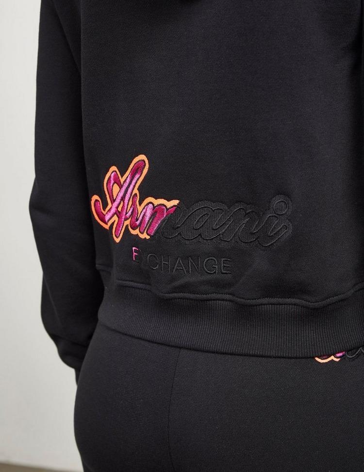 Armani Exchange Logo Full Zip Hoodie