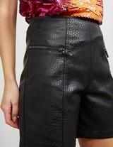 Armani Exchange Eco Leather Shorts