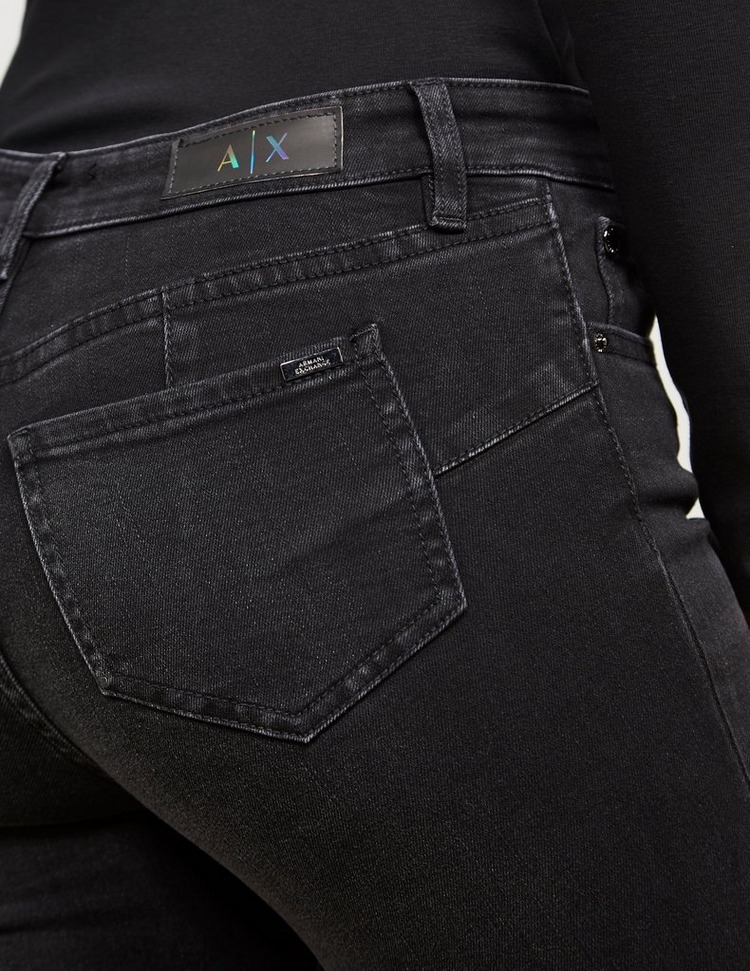 Armani Exchange Five Pocket Skinny Jeans