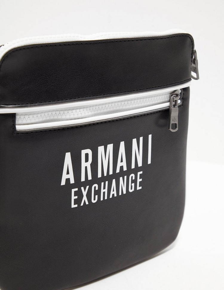 Armani Exchange Bold Logo Cross Body Bag