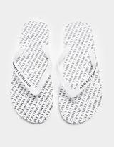 Armani Exchange All Over Print Flip Flops