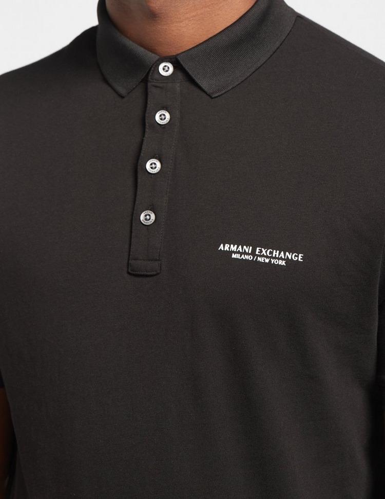Armani Exchange Corporate Logo Short Sleeve Polo Shirt