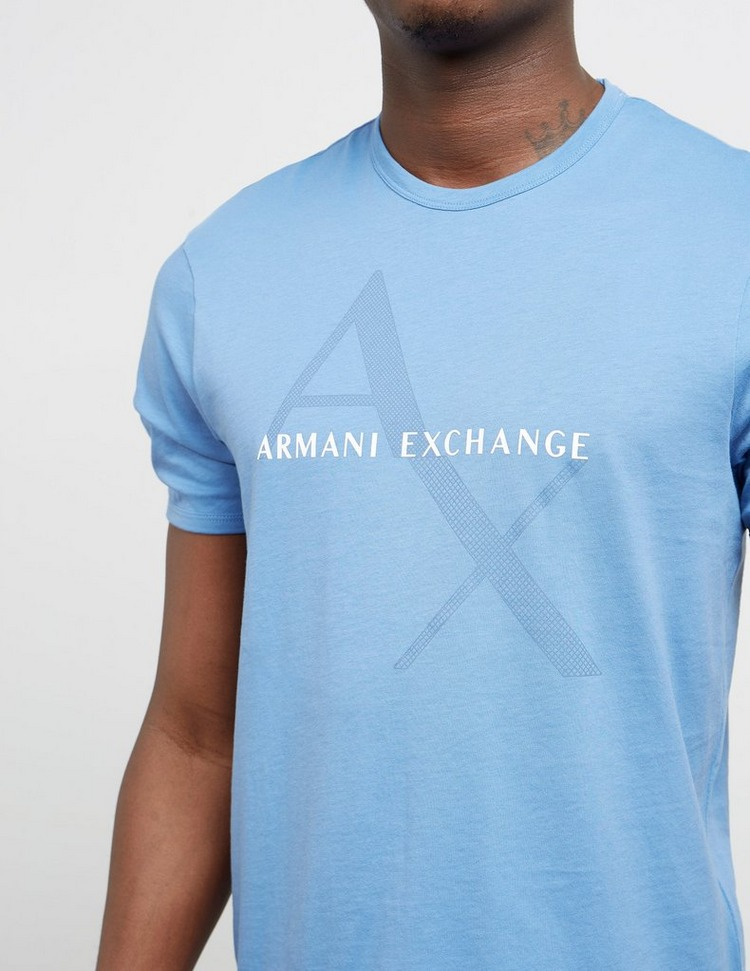 Armani Exchange Diagonal AX Short Sleeve T-Shirt