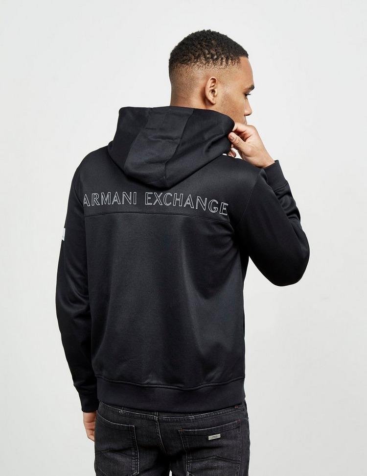 Armani Exchange Triple Logo Full Zip Hoodie