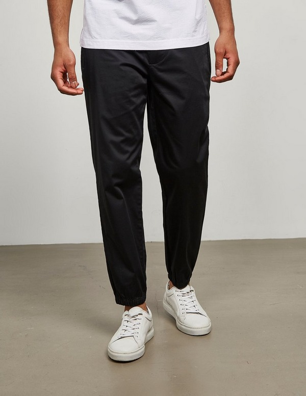 Armani Exchange Cotton Cuffed Pants