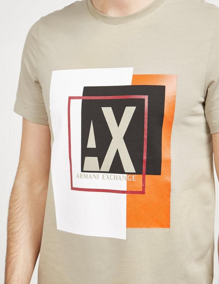 Armani Exchange Geo Logo Short Sleeve T-Shirt