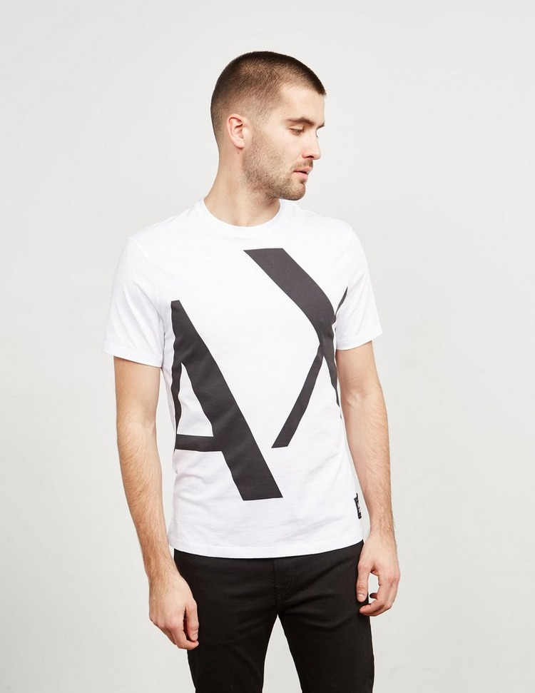 Armani Exchange Oversized Logo Short Sleeve T-Shirt