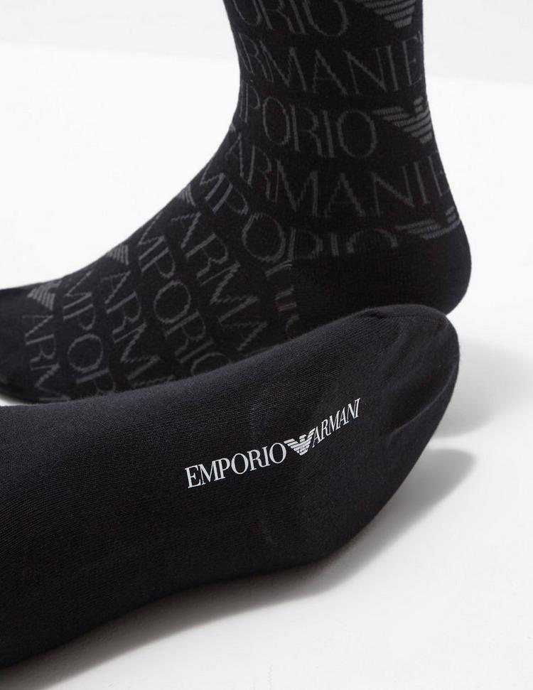 Emporio Armani 2 Pack Crew Socks