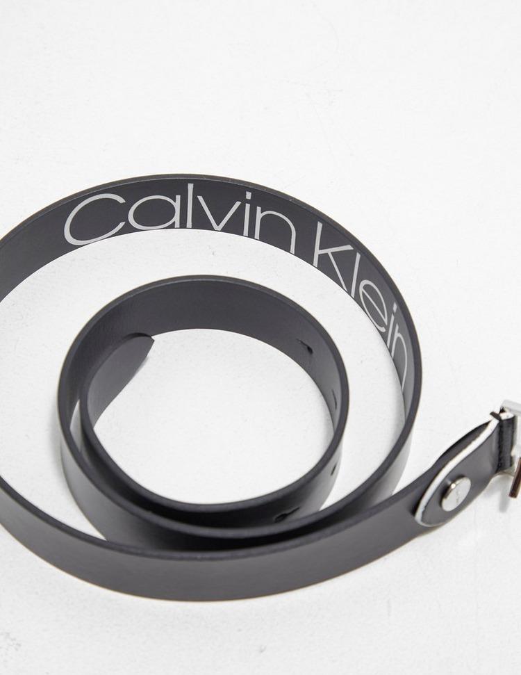 Calvin Klein Jeans CK Logo Low Belt